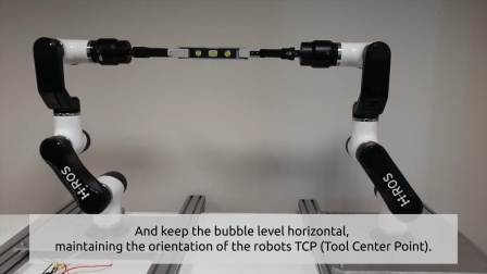 Multi-robot coordination with ROS 2_ Bubble level test