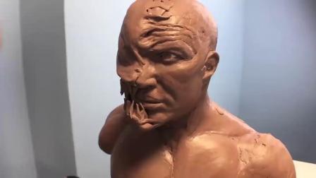 【蒸汽工场推荐】自制比买的还贵系列,国外大神制作钢铁侠手办【手残党的残念】【搬运】 - Venom Sculpture Timelapse ...