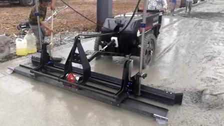 手推式混凝土激光整平机 -红外线定位摊平机