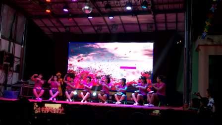 辛庄中心校附属幼儿园 老师舞蹈 非洲鼓