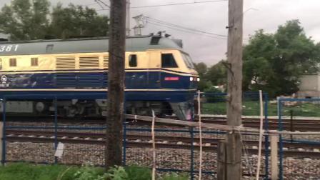 DF110381 牵引K996次列车通过平齐线北道口 2019.6.29