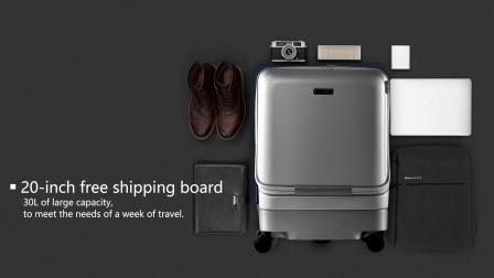 airwheel sr5智能跟随行李箱国外视频介绍产品功能视频