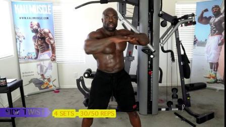 腹肌训练,如何避免受伤,增加脊盘附近的血流量 (02分40 开始)