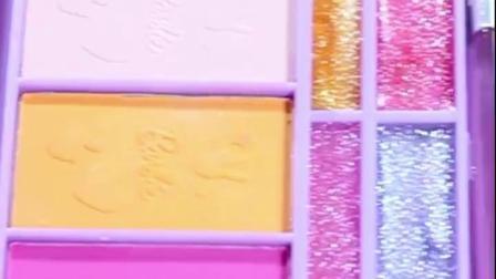 芭比儿童化妆品套装公主彩妆盒无毒3-7岁小女孩化妆玩具生日礼物