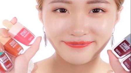 liphop冰淇淋染唇液不易脱色滋润冰激凌雪糕唇乳唇彩釉口红液彩妆