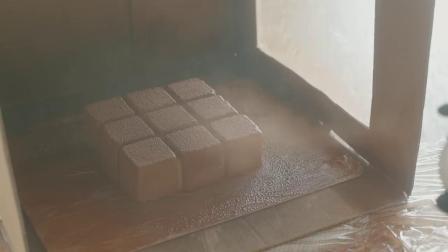 チョコレートベルベットケーキの作り方_ Velvet Texture Chocolate Cake Recipe