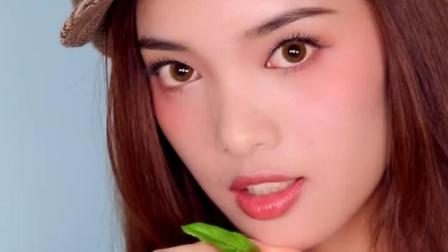 ColorKey缤纷花吻腮红粉裸妆保湿提亮肤色高光修容胭脂膏易上色