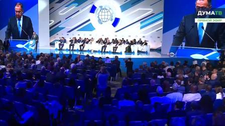 Открытие II Международного форума «Развитие парламентаризма» [2019.07.01]