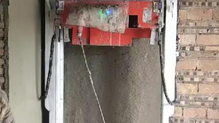 法拉利红经典自动粉墙机多少钱?我爱发明抹墙机好不好?