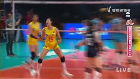 7月7日土尔其vs中国-世界女排联赛中国总决赛三四名决赛