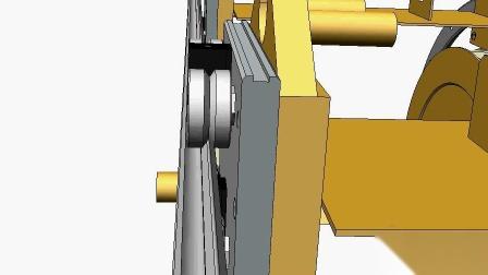 Hepco 浮动轴承 双列平行输送轨道系统示例