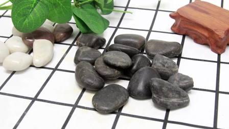 君晓天云南京雨花石花盆园艺画鹅卵石天然五彩色大小石头石子原石庭院鱼缸