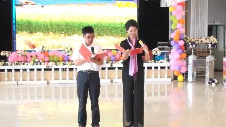 双鸭山王楠模特培训班联欢会2019.6.2