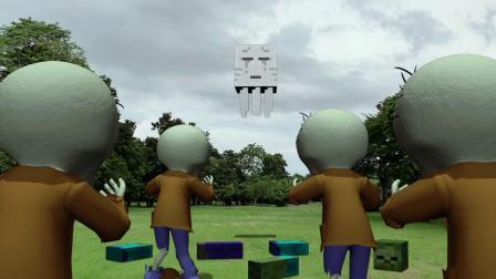 我的世界动画-丧尸末日在现实之中-Batt Minton