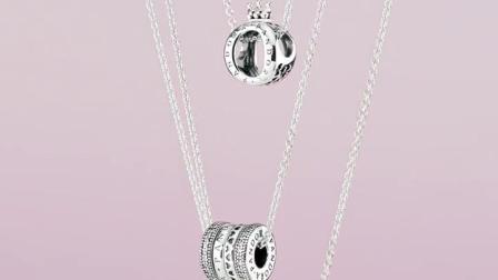 PANDORA潘多拉925银项链590412气质颈链简约时尚细吊坠锁骨链女