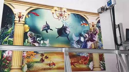 首汇墙体彩绘机厂家 墙体喷绘机 墙画机 墙绘机