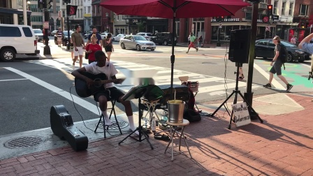 2019 07 Singing Stand By Me in Chinatown