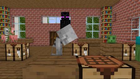 我的世界动画-怪物学院-打嗝挑战-Boop