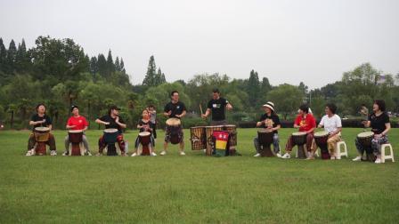 禾岸南京非洲鼓乐团草地聚会