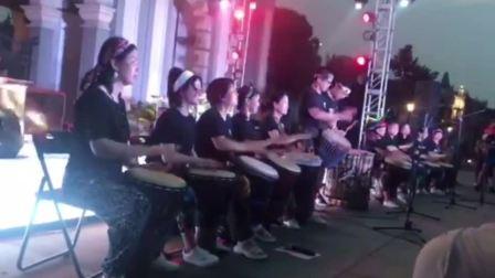 禾岸南京非洲鼓乐团---南京手鼓暖场意大利爵士乐巡演