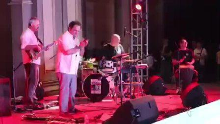 禾岸非洲鼓乐团即兴参演意大利爵士乐舞台