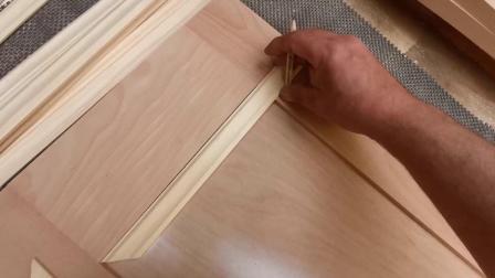 史密斯的壁龛橱柜和架子Smith's Alcove cupboards & shelves Pt3 - making the doors