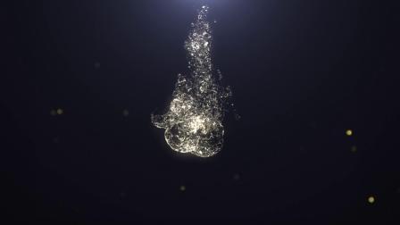 AE模板-水花飞溅LOGO标志展示片头动画