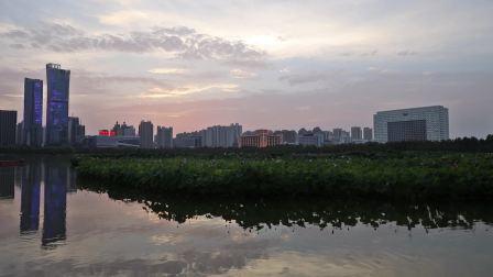 开元湖畔看落霞--李锦江
