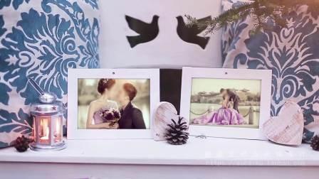 WD092018婚礼电子相册制作结婚庆片头婚纱照情人节纪念日mv创意AE模板开幕式视频 视频设计 制作 大气炫酷