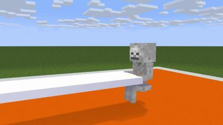 我的世界动画-怪物学院-抢桌子挑战-ROBE CUBE