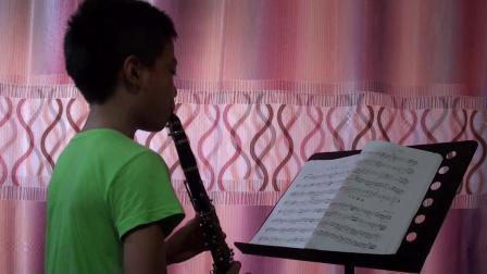 弟弟练习考级曲子