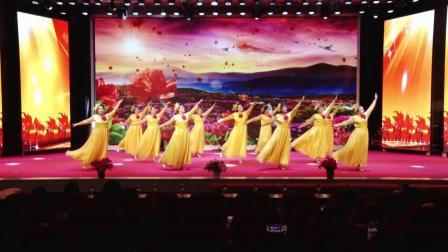 白云鄂博矿区铁花民族艺术团舞蹈《巾帼心向党》
