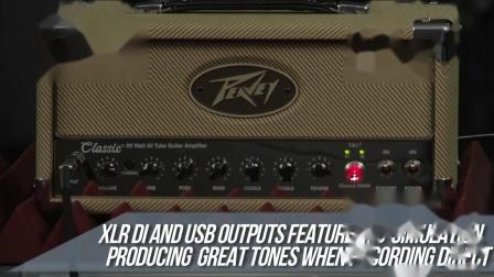 Peavey百威电吉他音箱专业级真空管音响Classic 20MH30箱头箱体