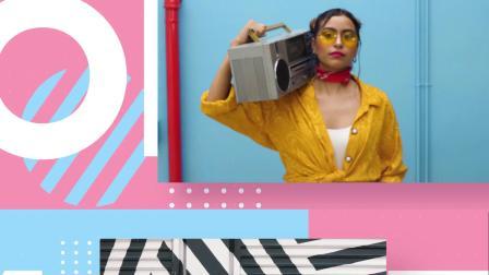 AE1248 AE模板-小清新青春时尚 综艺栏目 服装美妆 商业活动开场视频片头