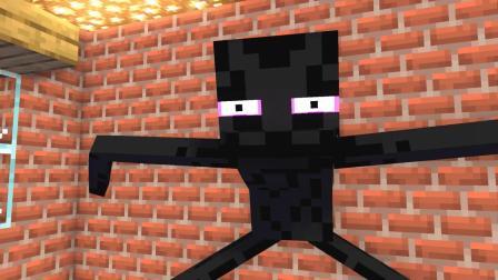我的世界动画-怪物学院-新同学来了-MineCZ