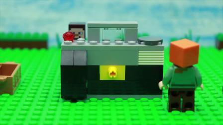 我的世界动画-乐高照相机-HanTube Toy