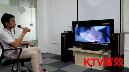 山水H7客厅电视k歌家用音响家庭KTV低音炮无线木质音箱套装