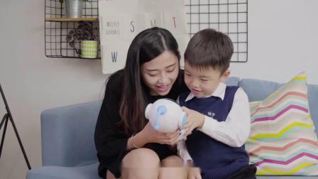 威珀儿童智能机器人玩具讲故事机人工对话语音学习蓝牙音箱早教机