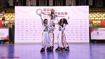 2019 丽水 全国轮滑锦标赛 轮滑舞蹈 A组 3rd 蓝斯克国际轮滑中心2队