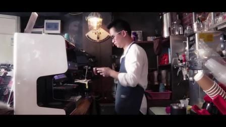 【映美拉花机】LAP-200 咖啡奶茶盖昔蛋糕点饼乾微信个性化图案照片定製智能自动打印  食用品级焦糖墨水