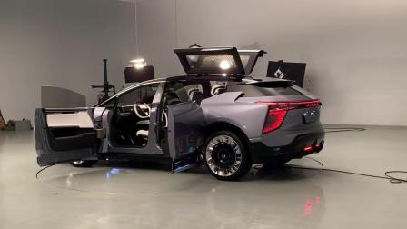 华人运通首款量产定型纯电动汽车 高合HiPhi 1