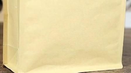茶叶包装袋牛皮纸袋自封袋定製红茶锡纸高档八边密封铝箔食品袋子