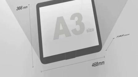 佳能TS9580无线彩色喷墨a3照片印表机家用办公影印扫瞄All厚纸CAD不乾胶封面名片铜版纸手机wifi自动双面