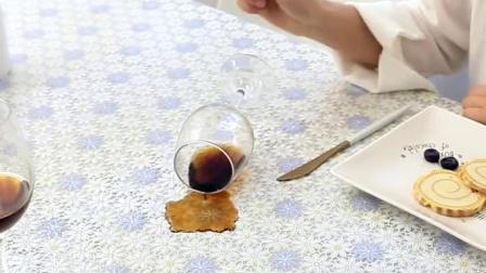 檯面布进口蕾丝边加厚覆膜桌布防水防油防烫耐高温餐桌布桌布茶几