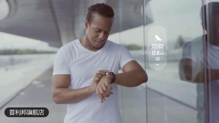 普利邦能接电话的智能运动手环蓝牙耳机二合一男测量心率心跳血压监测女苹果华为多功能计步器跑步手錶PB298