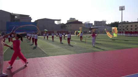 空竹柔力球表演:我和我的祖国