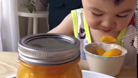 做个【黄桃罐头】给宝宝解暑