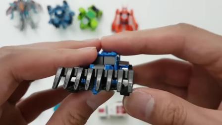 迷你变形金刚机器人玩具系列与擎天柱大黄蜂变相机器人