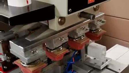 四色移印机全自动单色油盘移印机两色双色油盅移印机三色穿梭移印设备五色六色转盘移印机胶头独立下料降伺服旋转翻转移印机