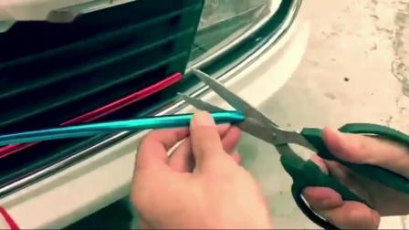 专用于日产15款19新楼兰电镀中网框改装前脸装饰条防撞汽车装饰配件